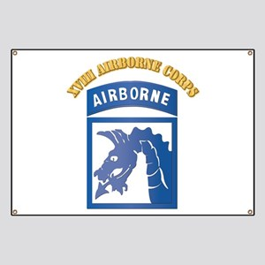 SSI - XVIII Airborne Corps with Text Banner