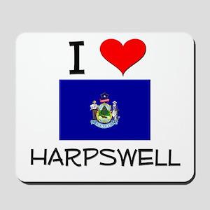 I Love Harpswell Maine Mousepad