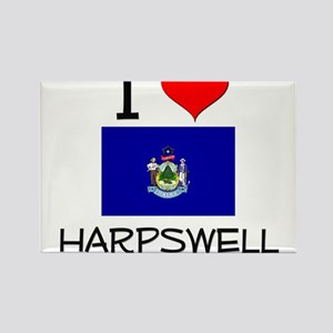 I Love Harpswell Maine Magnets