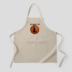 Custom Basketball Dunk Silhouette Apron