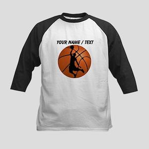 Custom Basketball Dunk Silhouette Baseball Jersey