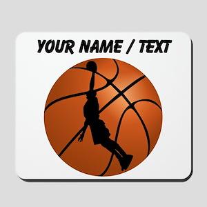 Custom Basketball Dunk Silhouette Mousepad