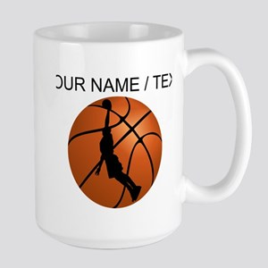 Custom Basketball Dunk Silhouette Mugs