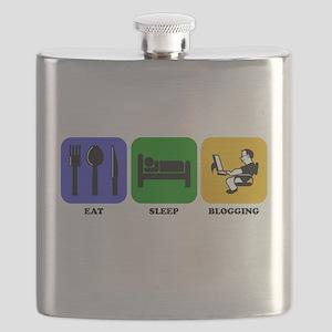 Eat Sleep Blogging Flask