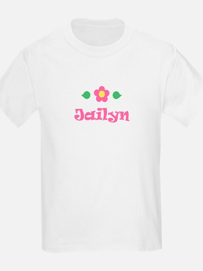 "Pink Daisy - ""Jailyn"" Kids T-Shirt"