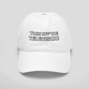 Turn Off The Television Baseball Cap