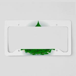 Cammo Tree License Plate Holder