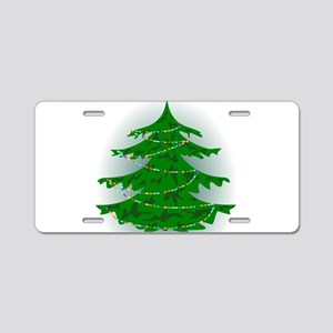 Cammo Tree Aluminum License Plate
