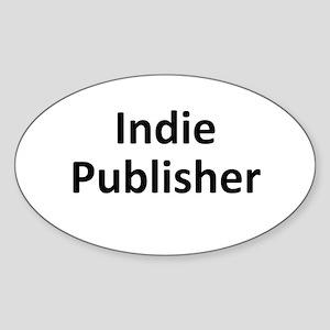 Indie Publisher Sticker (Oval)
