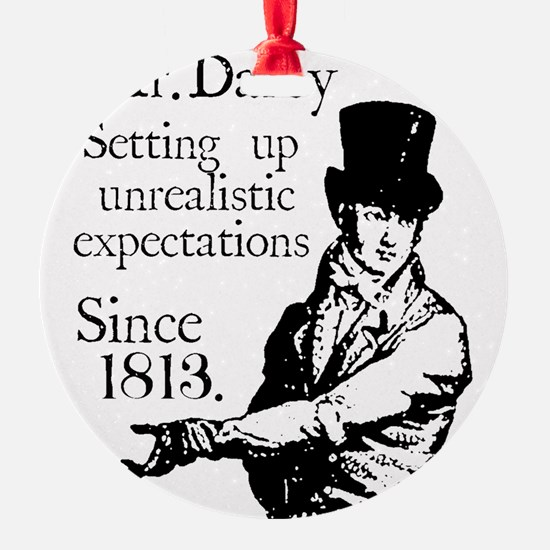 Mr. Darcy close up Ornament