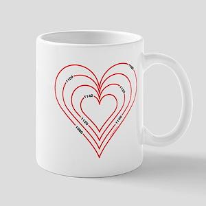 Civil Engineering Heart Mug