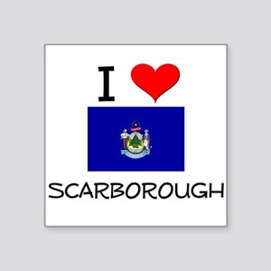 I Love Scarborough Maine Sticker