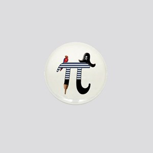 Pi Pirate Mini Button (10 pack)