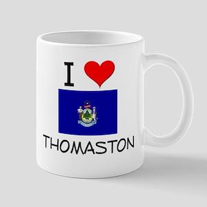 I Love Thomaston Maine Mugs