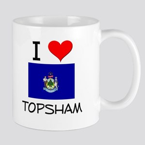 I Love Topsham Maine Mugs