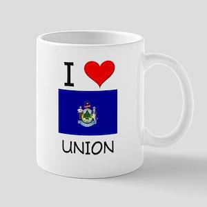 I Love Union Maine Mugs