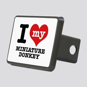 I love my Miniature Donkey Rectangular Hitch Cover