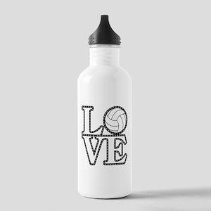 Love Volleyball Water Bottle