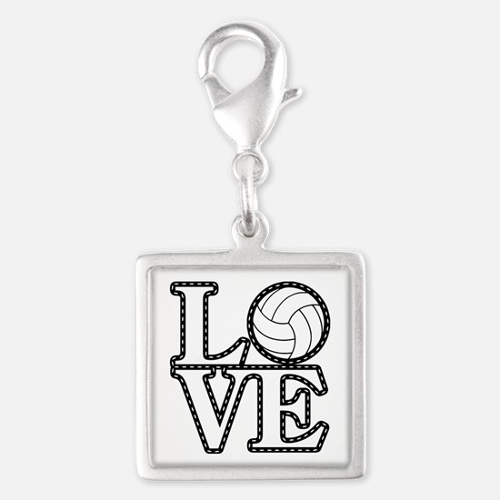 Love Volleyball Charms
