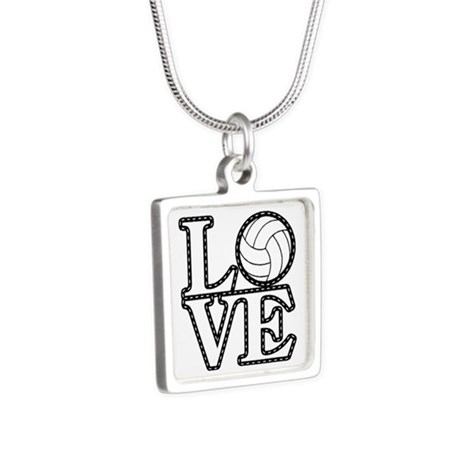 Love Volleyball Necklaces
