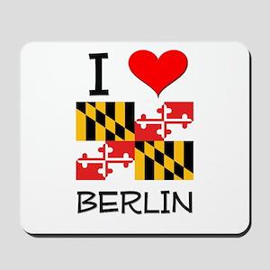 I Love Berlin Maryland Mousepad