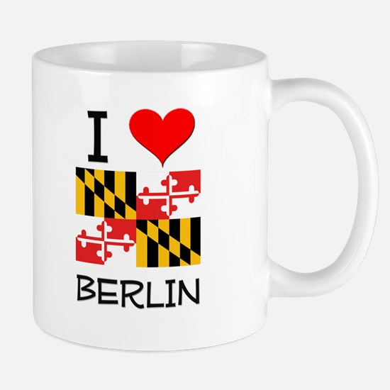 I Love Berlin Maryland Mugs