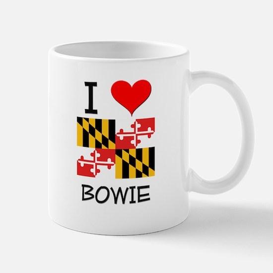 I Love Bowie Maryland Mugs