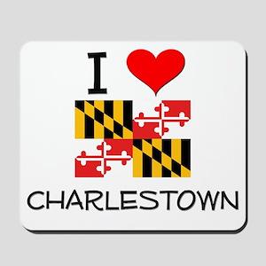 I Love Charlestown Maryland Mousepad