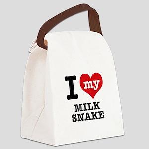 I love my Milk Snake Canvas Lunch Bag