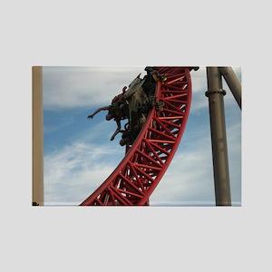 Cedar Point Maverick Roller Coast Rectangle Magnet