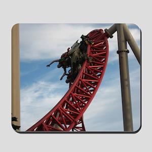 Cedar Point Maverick Roller Coaster Mousepad