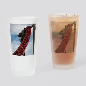 Cedar Point Maverick Roller Coaster Drinking Glass