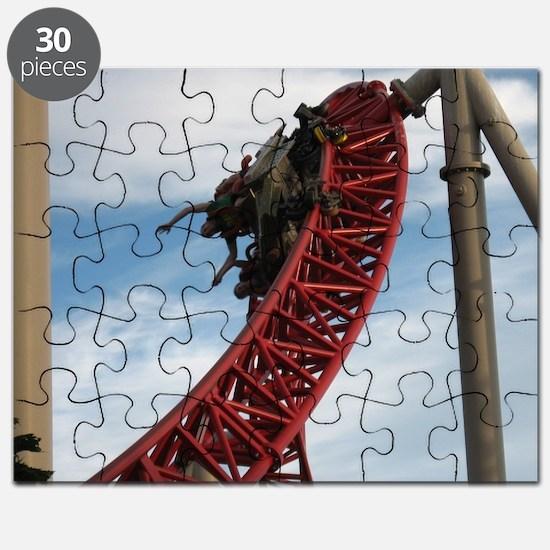 Cedar Point Maverick Roller Coaster Puzzle