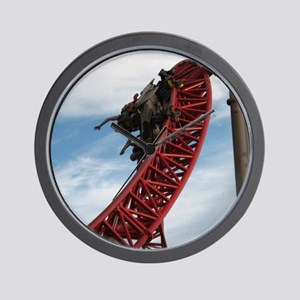Cedar Point Maverick Roller Coaster Wall Clock