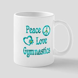 Peace Love Gymnastics Mug
