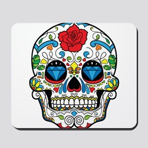 Dark Sugar Skull Mousepad