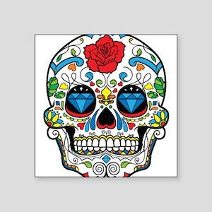 Dark Sugar Skull Sticker