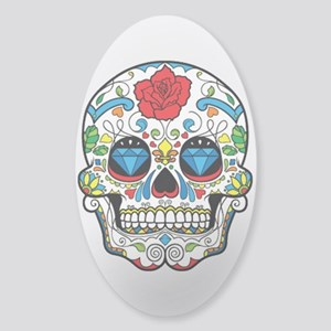 Dark Sugar Skull Sticker
