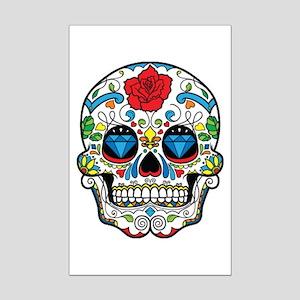 Dark Sugar Skull Posters