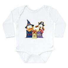 Garfield Trick or Treat Long Sleeve Infant Bodysui