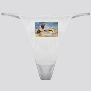 Wine Beach Party Classic Thong