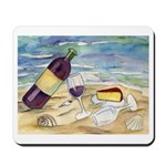 Wine Beach Party Mousepad