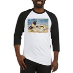 Wine Beach Party Baseball Jersey