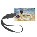 Wine Beach Party Luggage Tag
