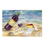 Wine Beach Party Postcards (Package of 8)