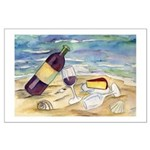 Wine Beach Party Posters