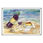 Wine Beach Party Banner