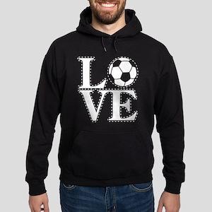 Love Soccer! Hoodie (dark)