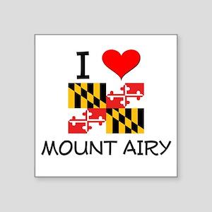 I Love Mount Airy Maryland Sticker