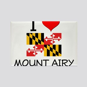 I Love Mount Airy Maryland Magnets
